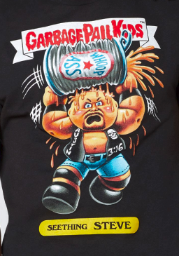 38fd94d73 Item# 03476660 : Seething Steve Garbage Pail Kids T Shirt - WWE Price:  $21.99